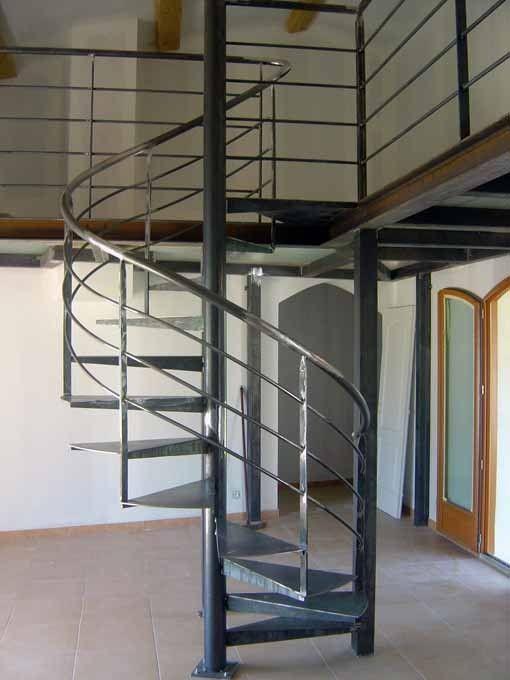 escalier collimasson avec mezzanine. Black Bedroom Furniture Sets. Home Design Ideas