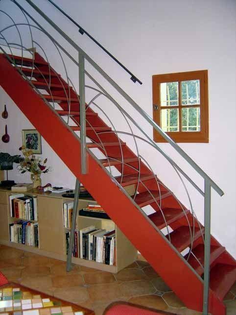 Rampe D 39 Escalier Motifs Demi Rond