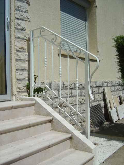 Rampe escalier for Rambarde d escalier exterieur