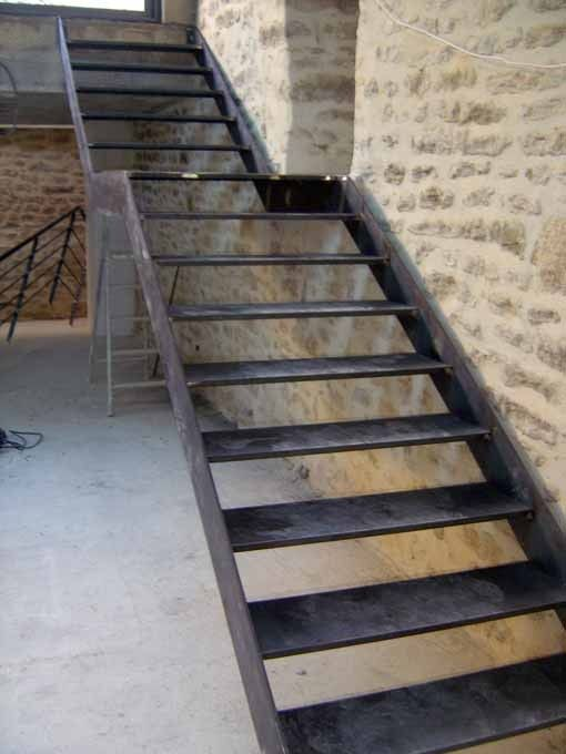 Escalier metal for Creer un escalier interieur