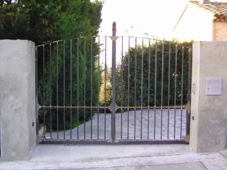 Portail fer forge for Modele portail fer forge