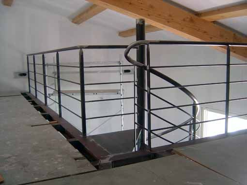 escalier metal. Black Bedroom Furniture Sets. Home Design Ideas